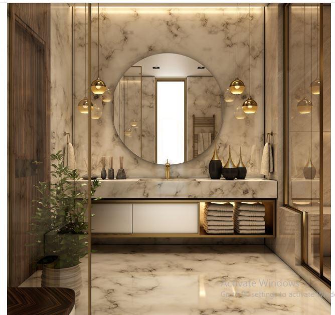 سرویس بهداشتی خود را شیک و زیبا کنیم.