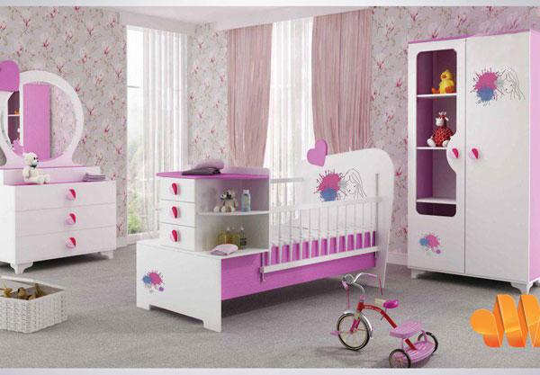 بهترین طراحی دکوراسیون اتاق کودک و نوزاد